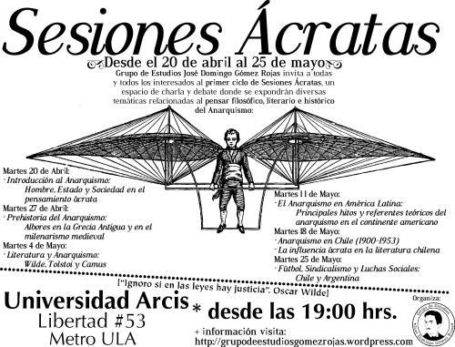 Sesiones Ácratas