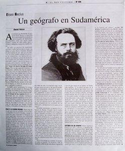 Un geógrafo en Sudamérica