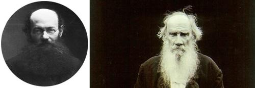 Kropotkin y Tolstoi