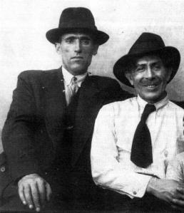 Simón Radowitzky y Rodolfo González Pacheco