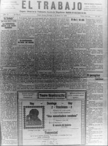 Periódico El Trabajo