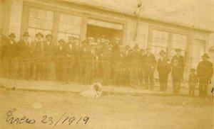 Comuna de Puerto Natales,  F.O.M., enero de 1919.