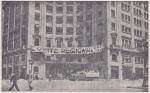 La casa de Cambó. Via Layetana (Via Durruti), ocupada durante la revolución por los trabajadores de la C.N.T y de la F.A.I.