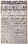 """Solidaridad Obrera"" del 23 de julio de 1936."