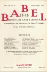 Babel #15-16