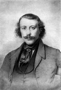 Un joven Miguel Bakunin.